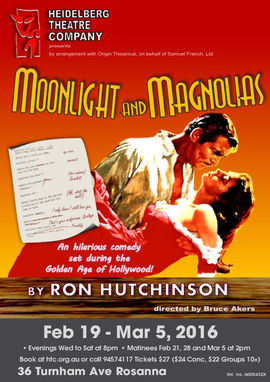 Moonlight and Magnolias Poster